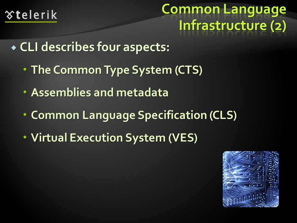 Common Language Infrastructure (2)