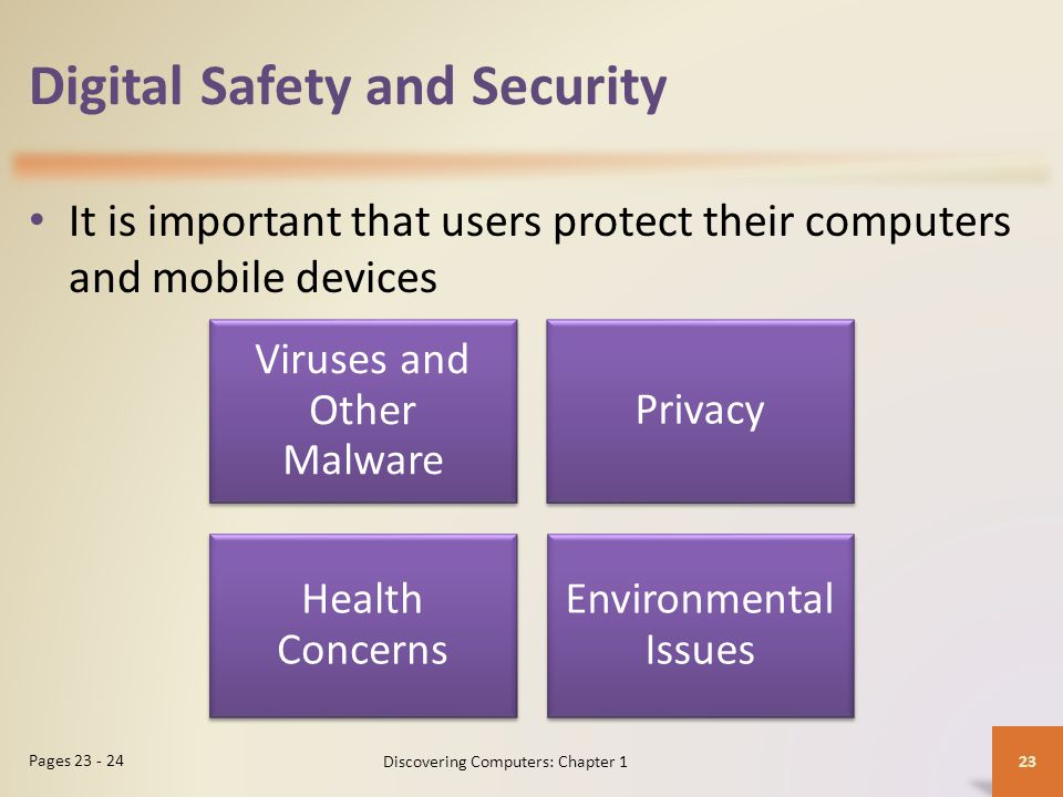 Digital Safety and Security