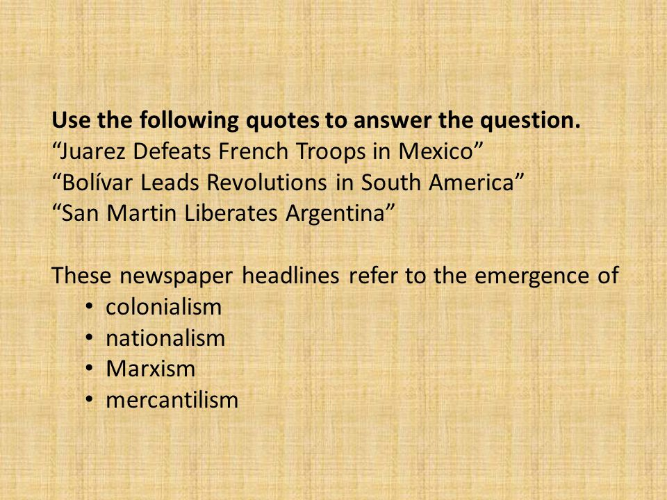 Use the following quotes to answer the question.