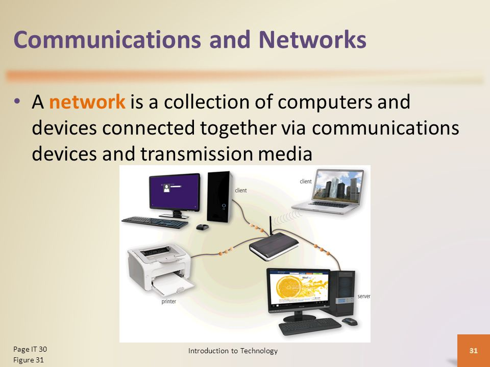 introduction to the network communication devices Introduction to computers/networks  a network that links all microcomputer and other communication devices  in fact, communication across a wireless network is.