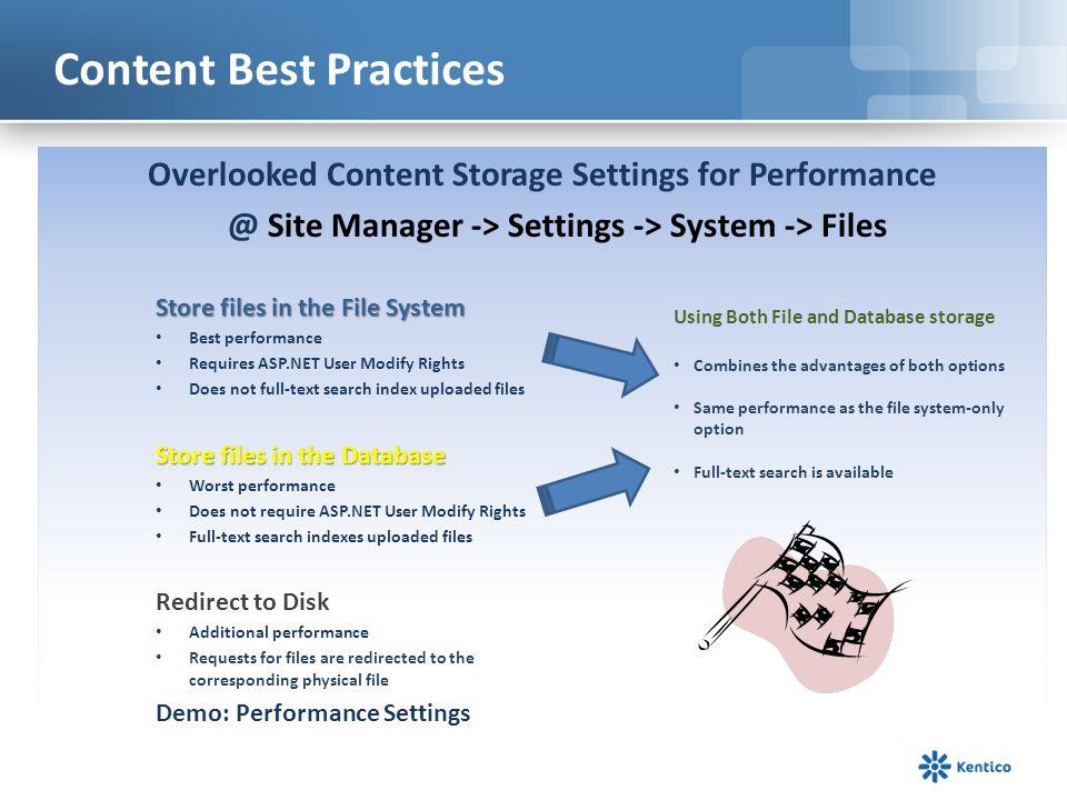 Content Best Practices