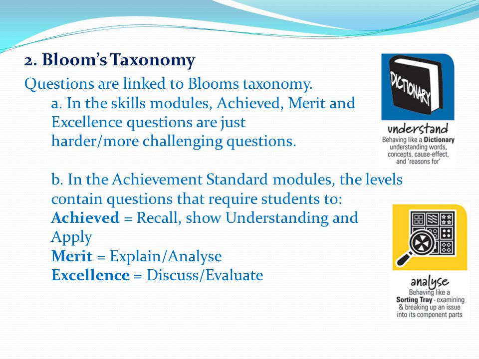 2. Bloom's Taxonomy