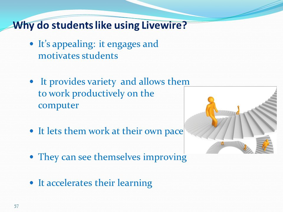Why do students like using Livewire