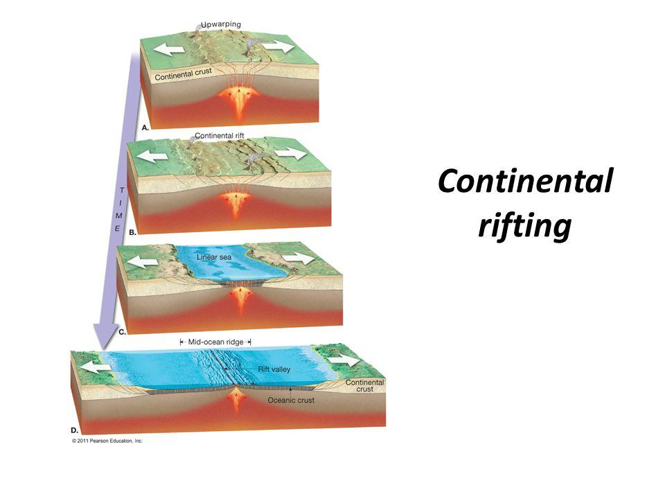 Continental rifting