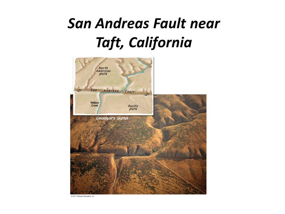 San Andreas Fault near Taft, California