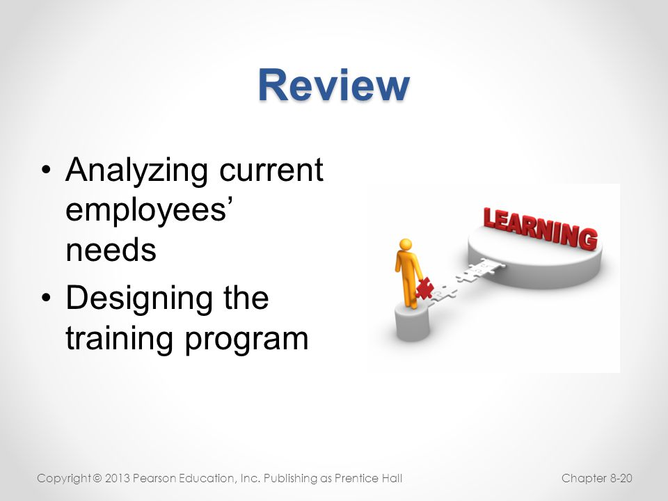 Review Analyzing current employees' needs