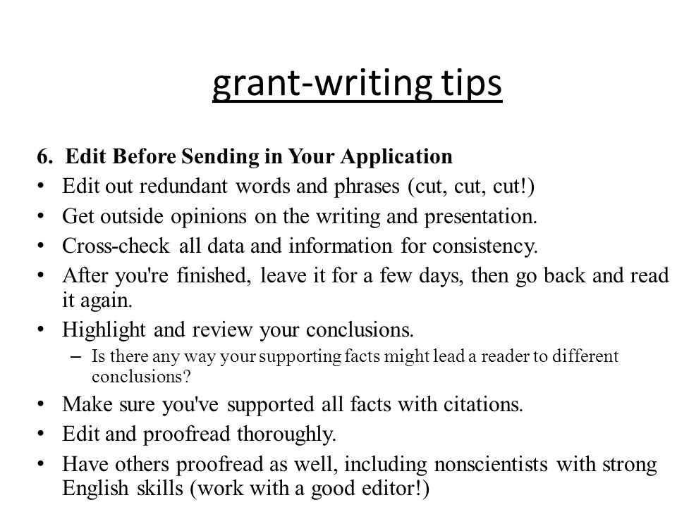 grant writing skills Resources and advice on grant writing basics grant writing 101: resources for grant writers the best way to improve your basic skills, advises.
