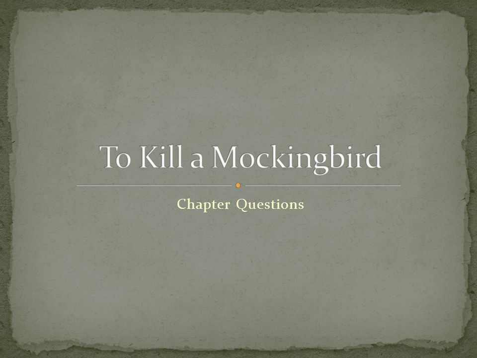 an examination of the novel to kill a mockingbird by harper lee