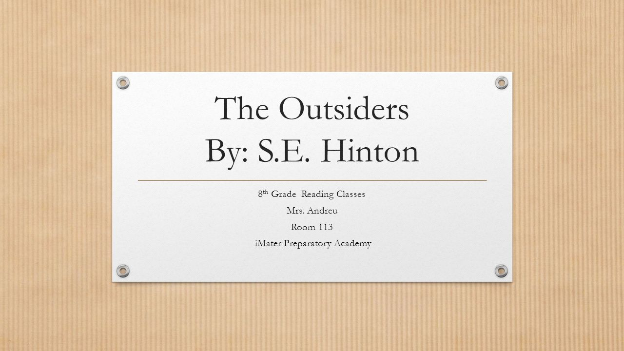 the outsiders by s e hinton @@ top_1_item_online @@ the outsiders paperback by s e hinton by daniela crona promos, considering that of many advantages and rewards, even more and more people say that they favor on the net procuring above regular procuring people days.
