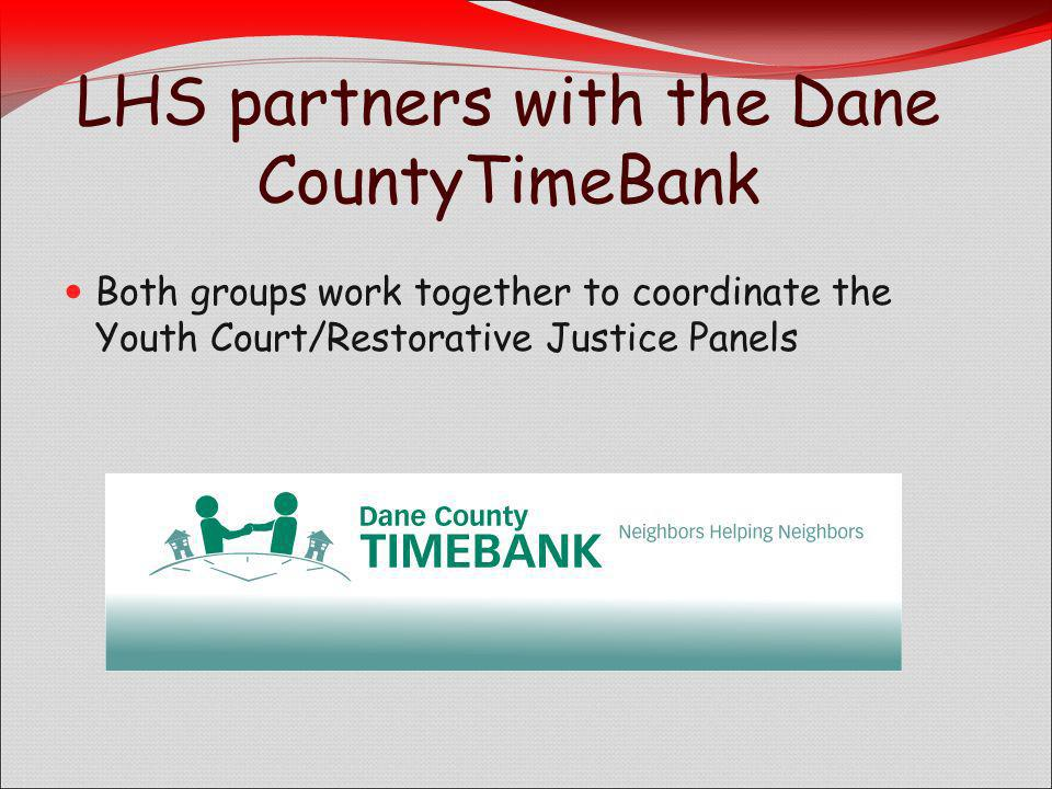 LHS partners with the Dane CountyTimeBank