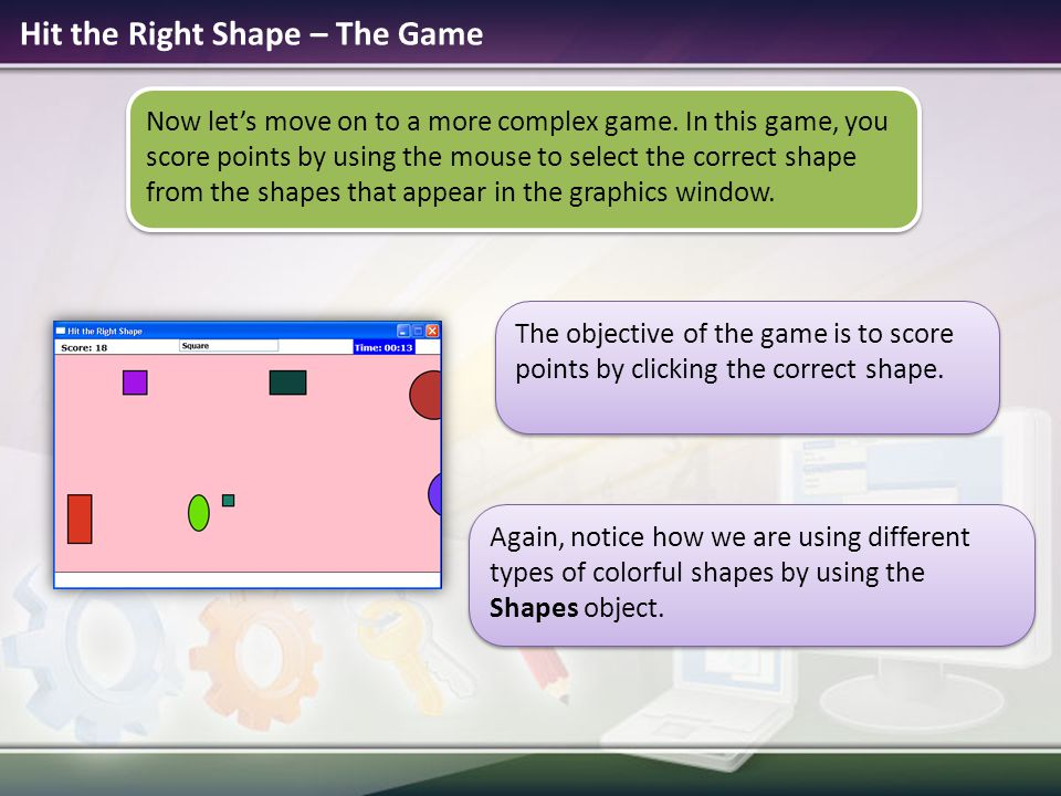Hit the Right Shape – The Game