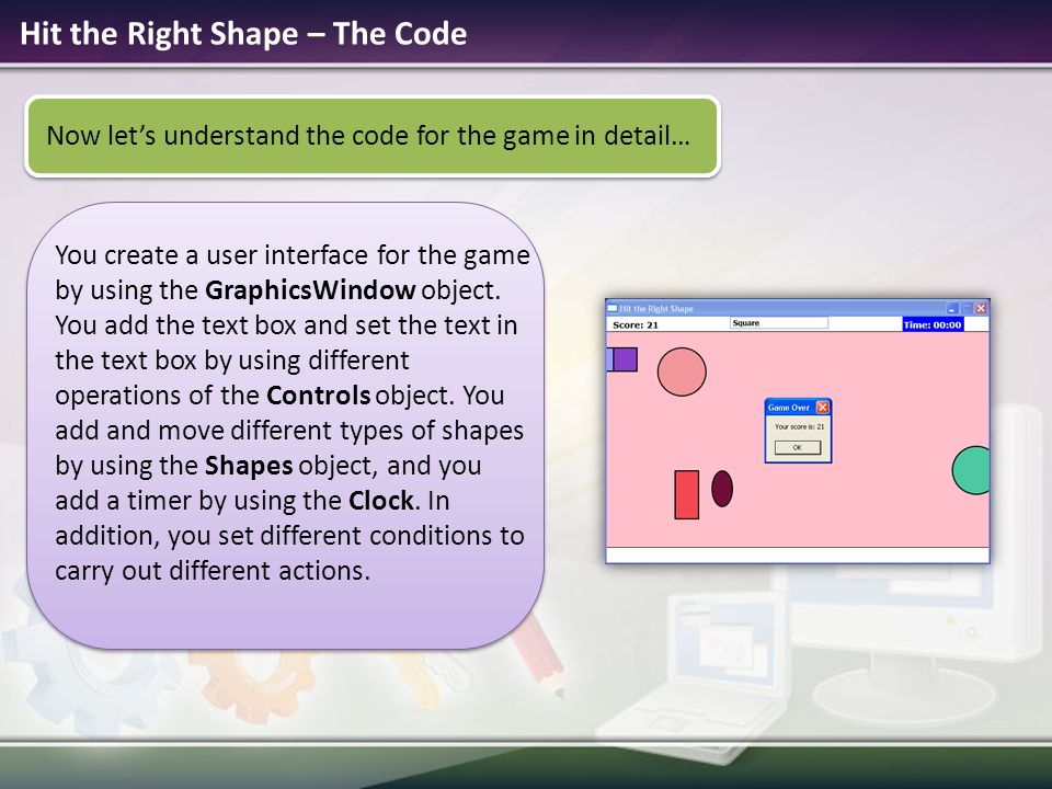 Hit the Right Shape – The Code