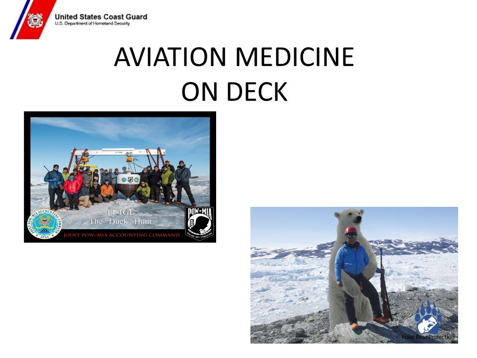 AVIATION MEDICINE ON DECK