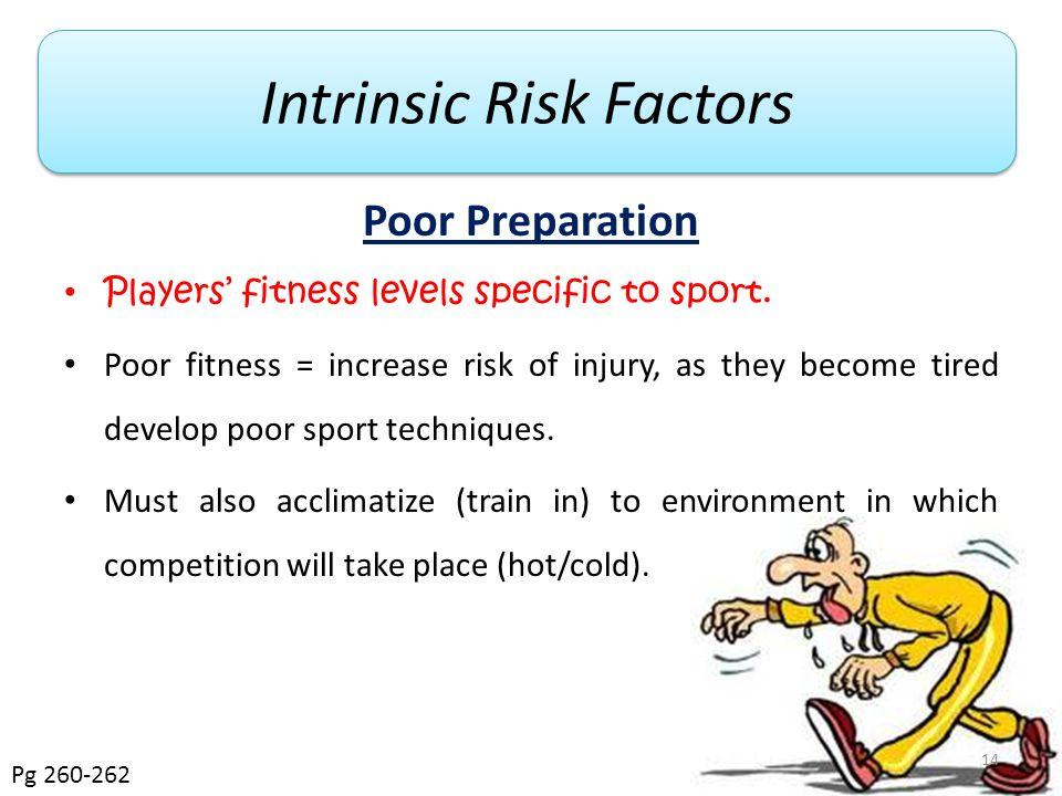 Intrinsic Risk Factors