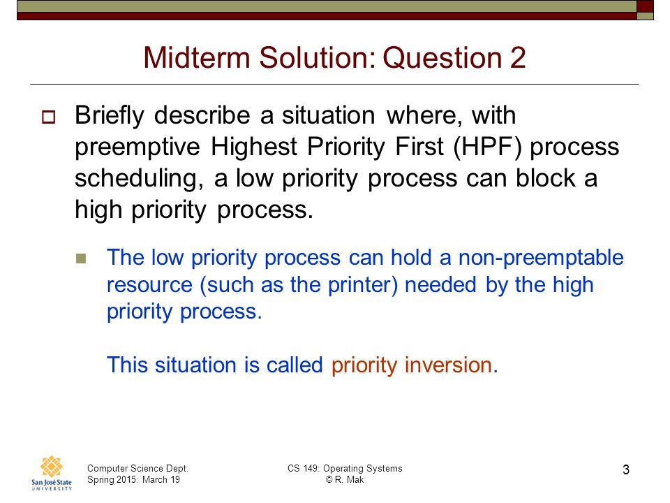 Midterm Solution: Question 2