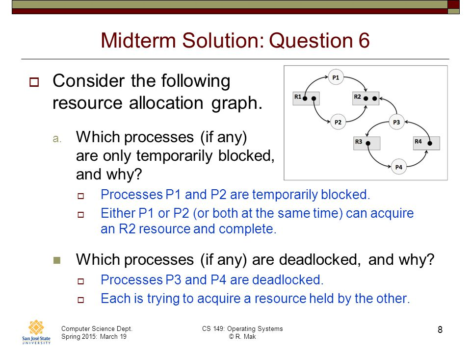 Midterm Solution: Question 6