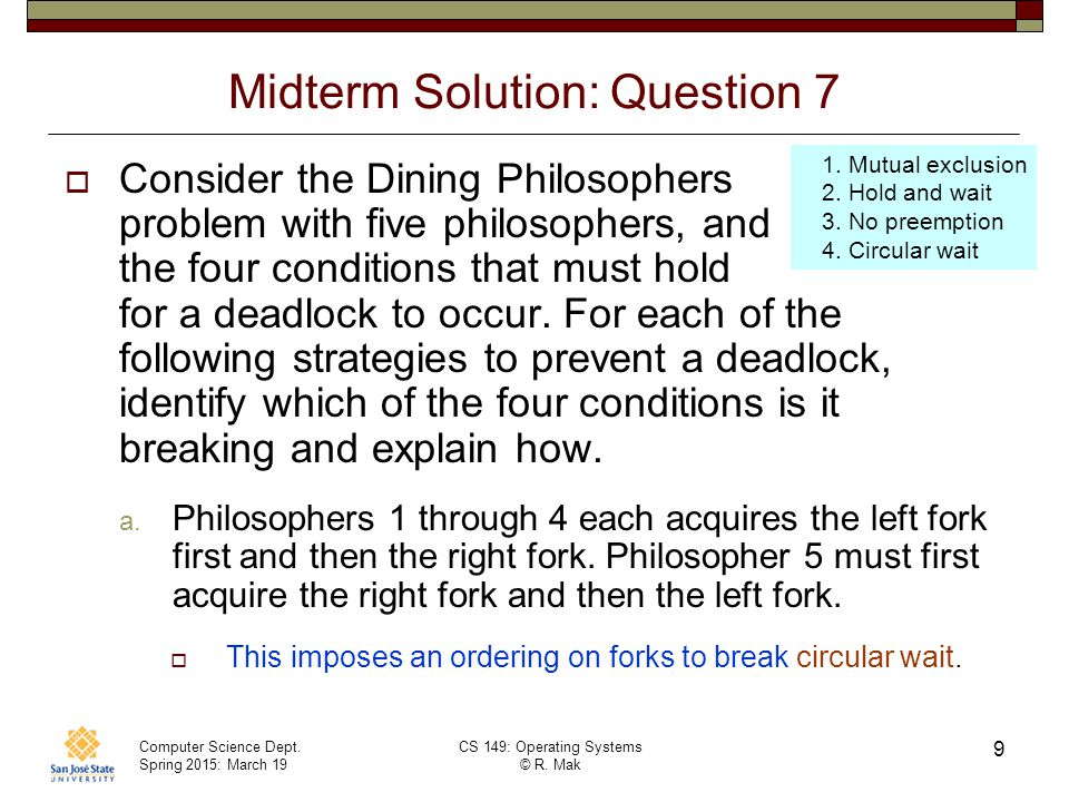 Midterm Solution: Question 7