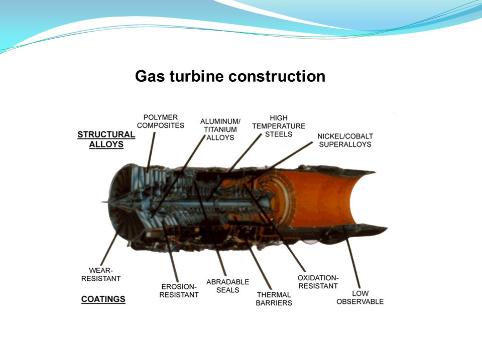 Gas turbine construction