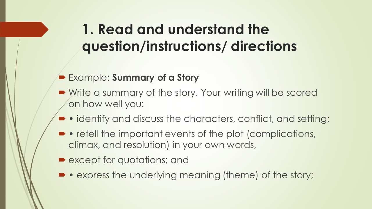 Wikipedia:How to write a plot summary