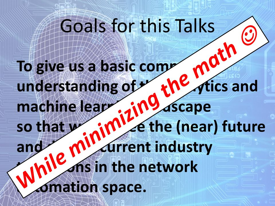 While minimizing the math 