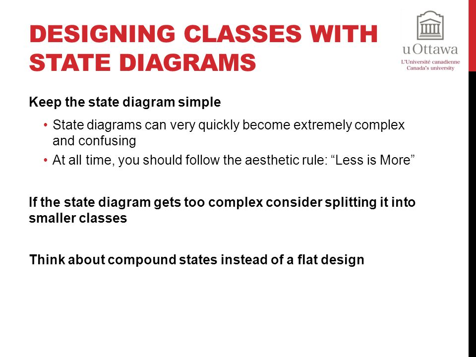 Designing Classes with State Diagrams