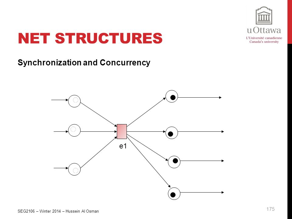 Net Structures Synchronization and Concurrency e1