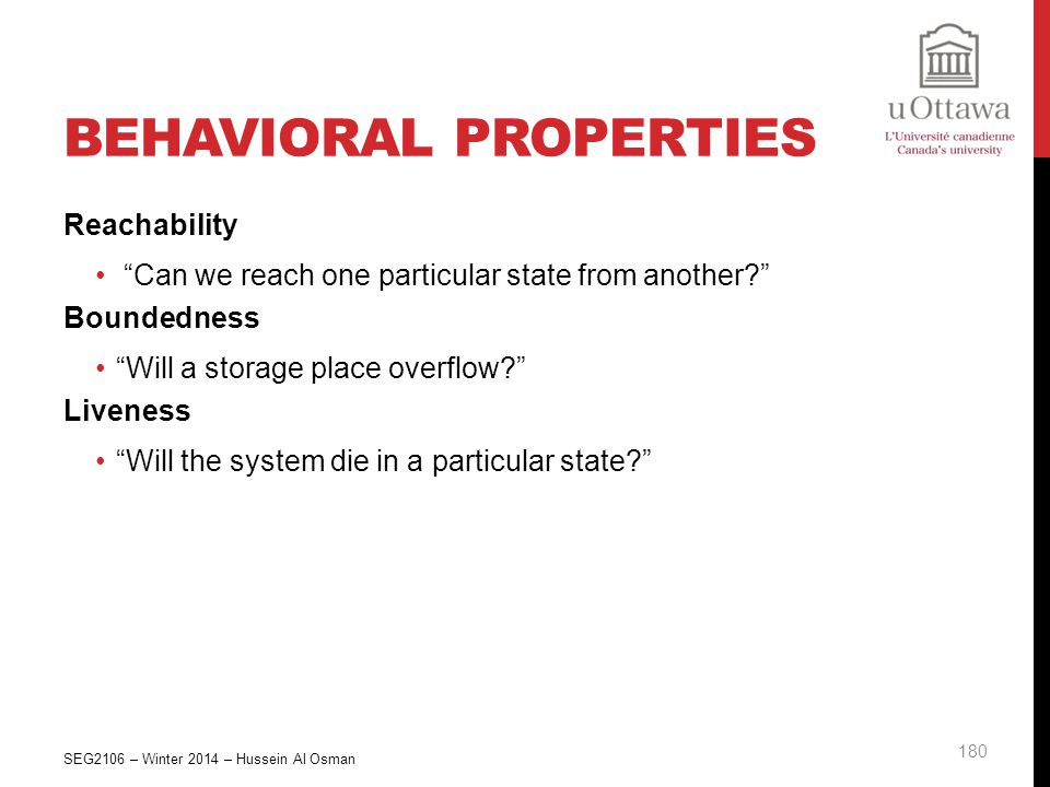 Behavioral Properties