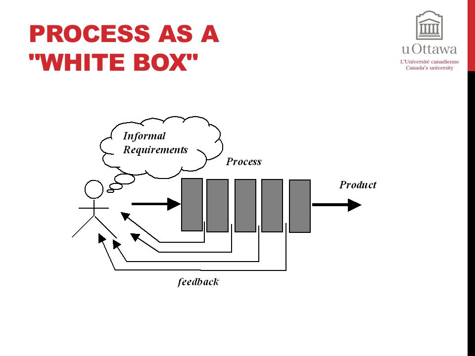 Process as a white box