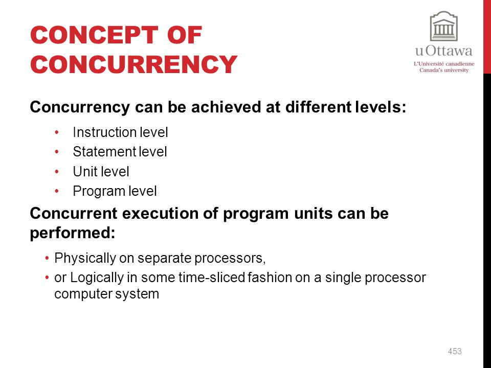 Concept of Concurrency