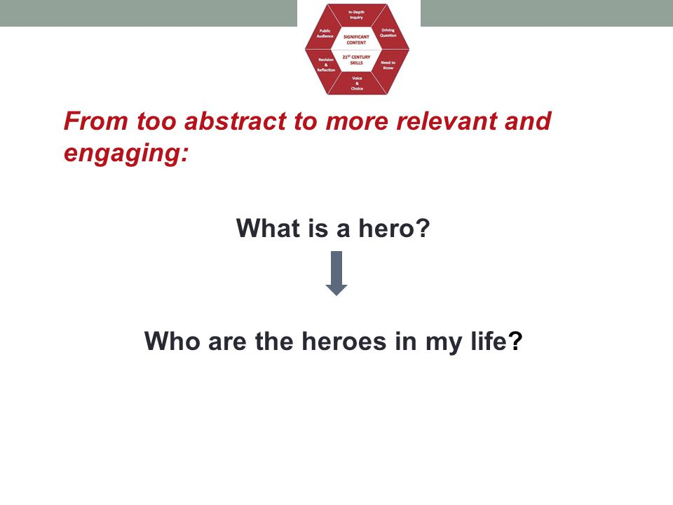 Who are the heroes in my life