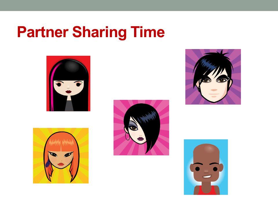 Partner Sharing Time