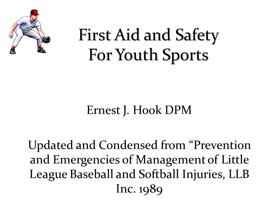 First Aid and Safety For Youth Sports