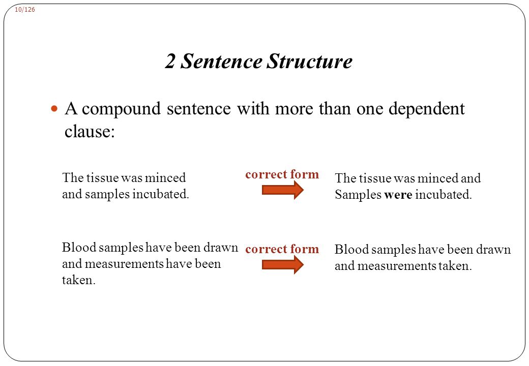 2 Sentence Structure B. Pronoun Reference A missing antecedent