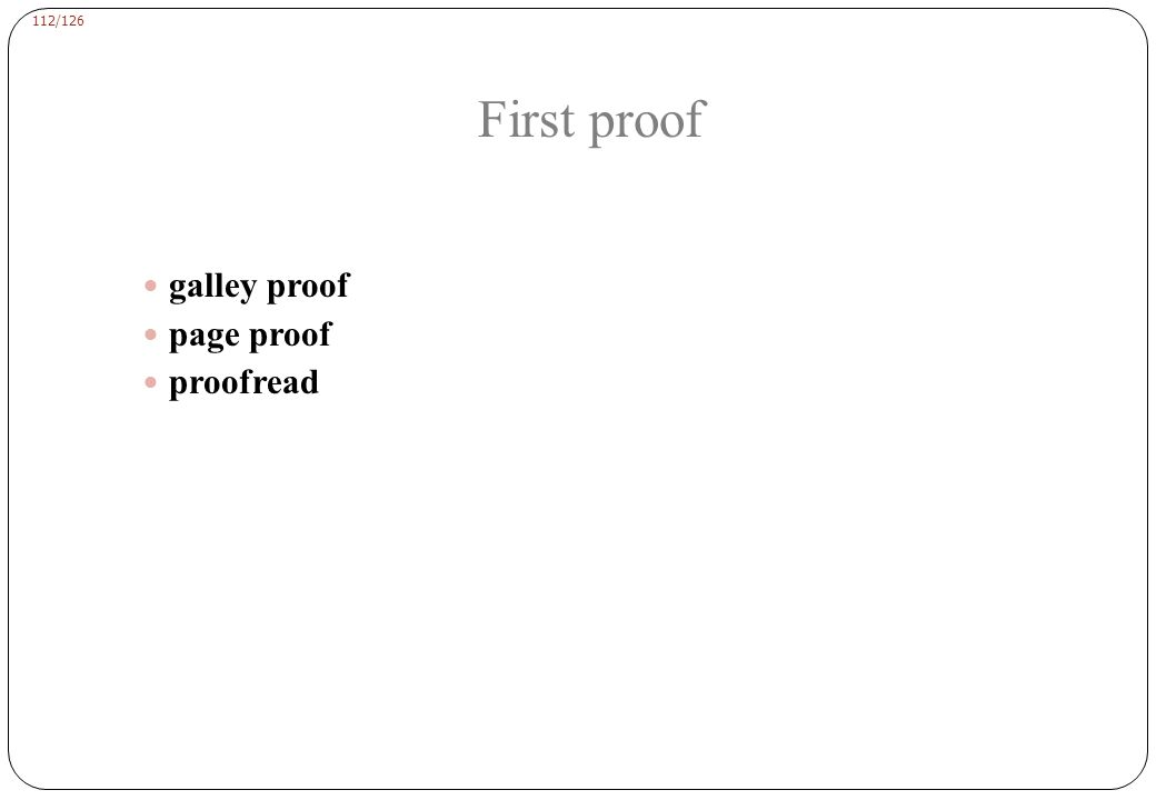 Example of an edited proof: