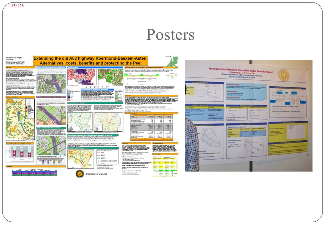 Posters why we must use poster