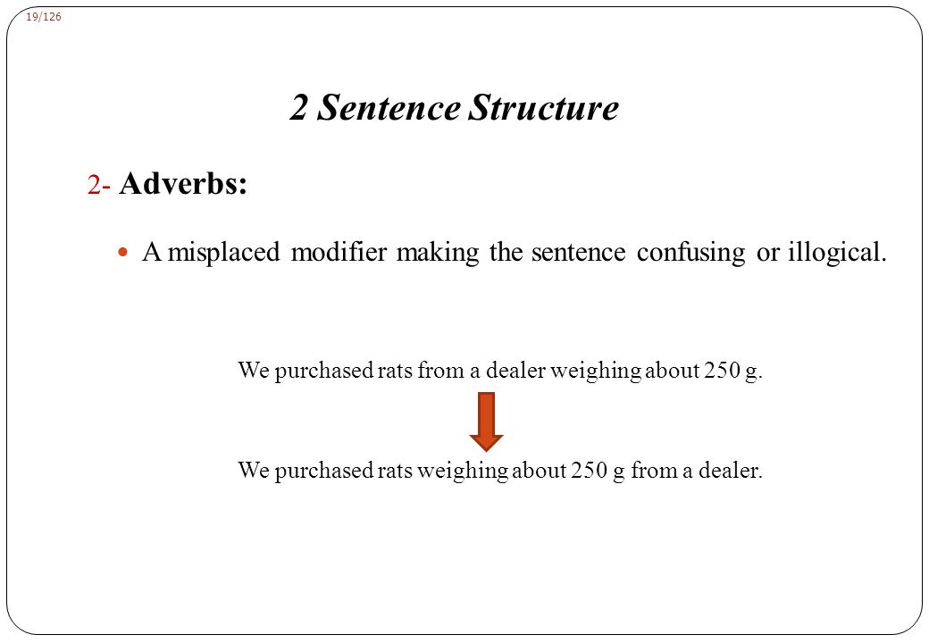 2 Sentence Structure F. Germanic Construction