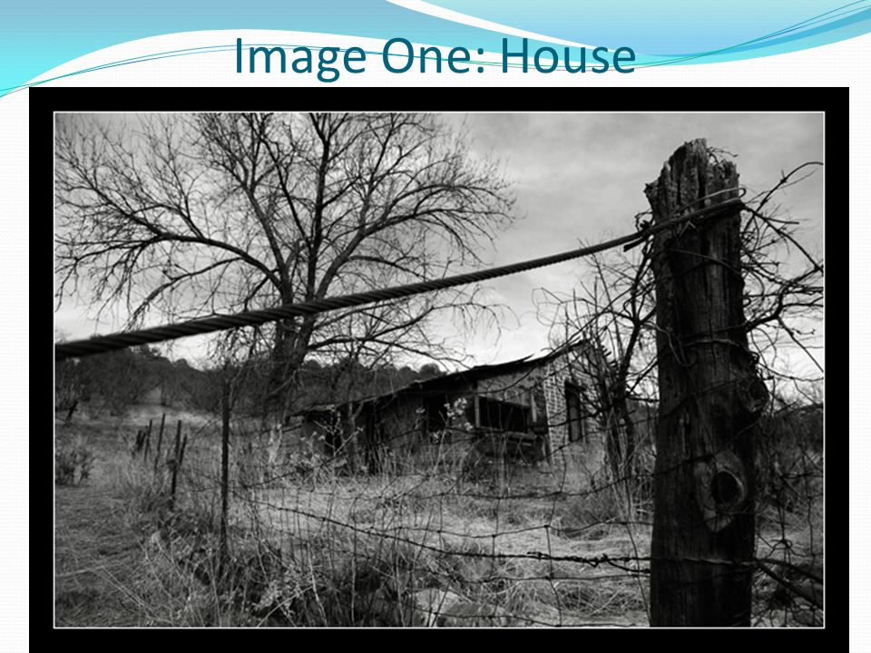 Image One: House