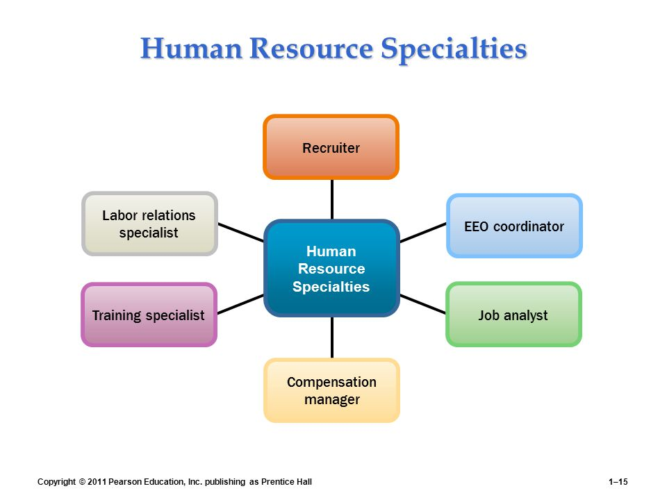 Human Resource Specialties