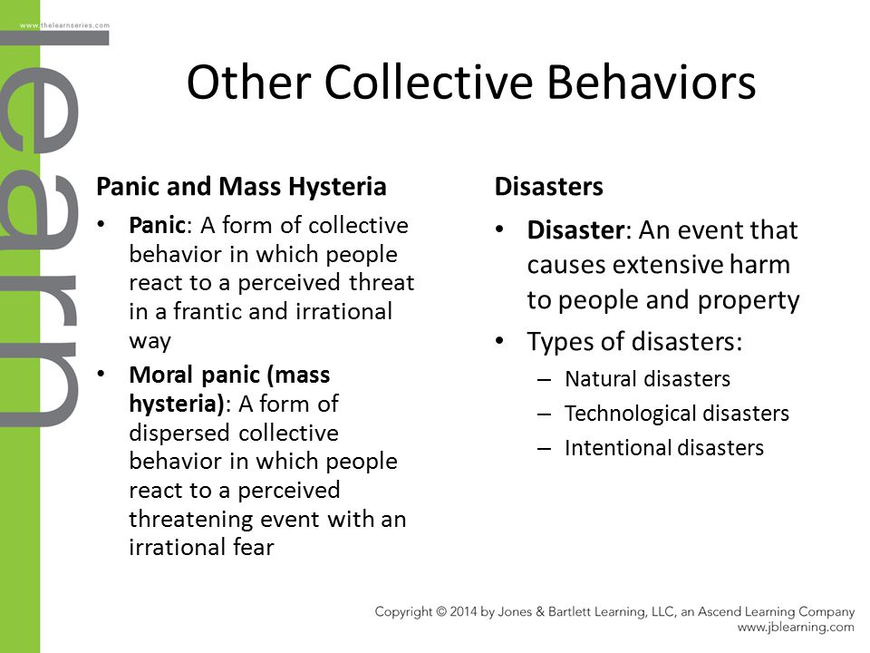 Other Collective Behaviors
