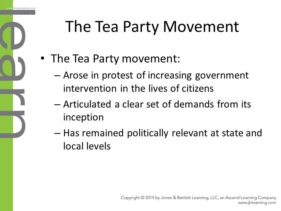 The Tea Party Movement The Tea Party movement: