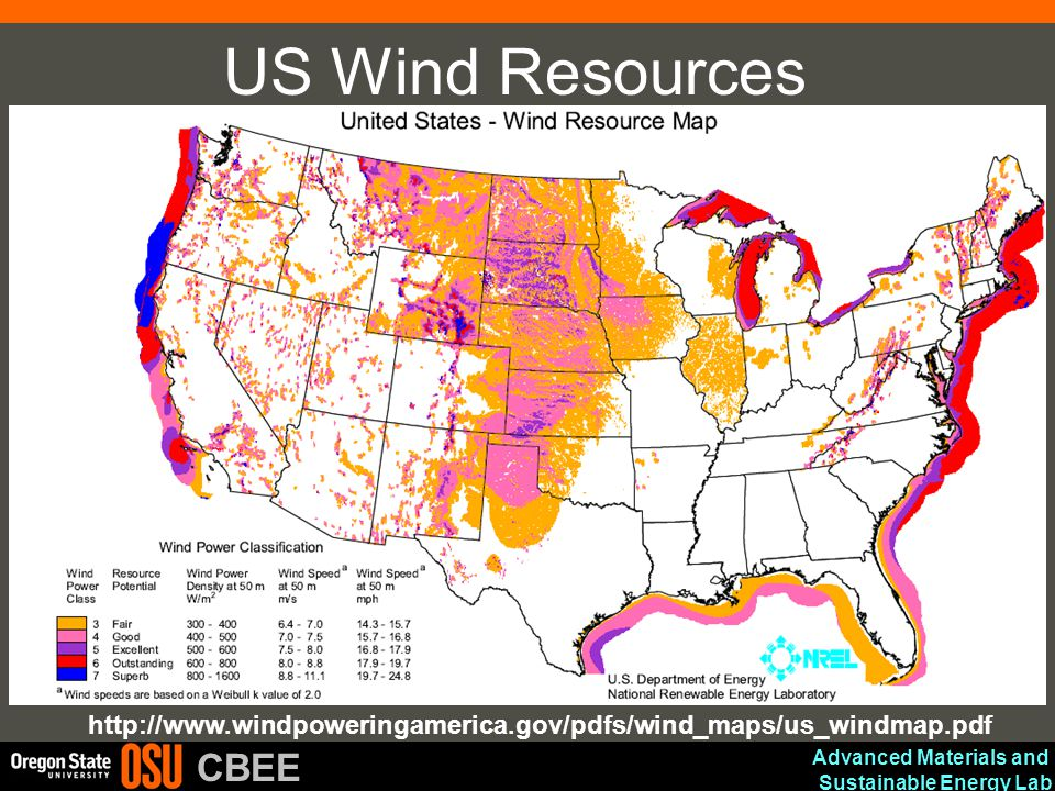 Us Wind Map Globalinterco - Us wind energy map