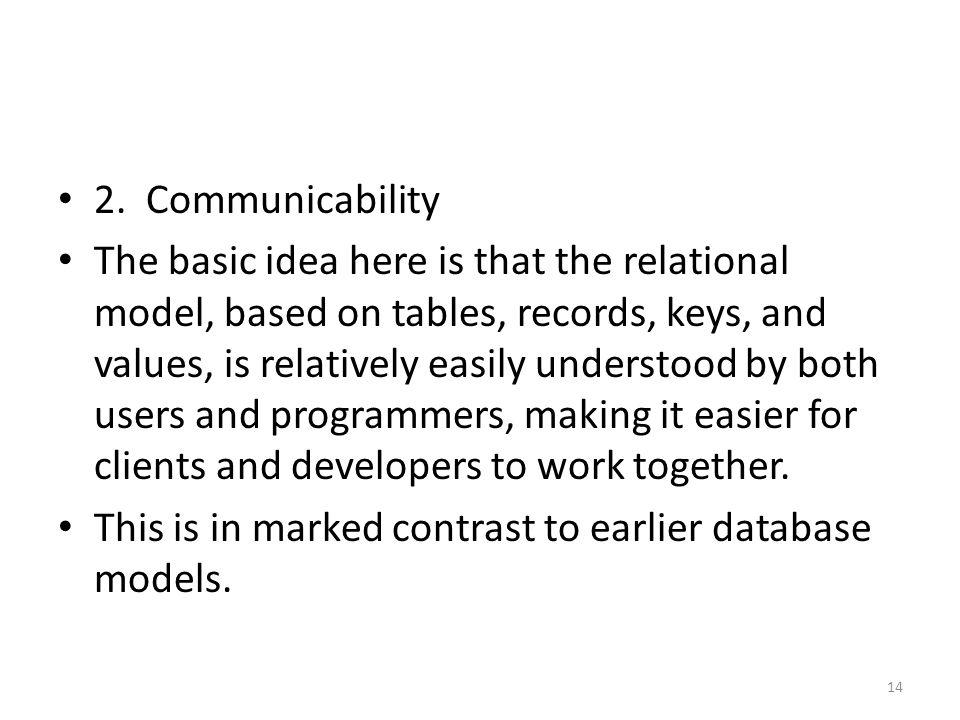 2. Communicability