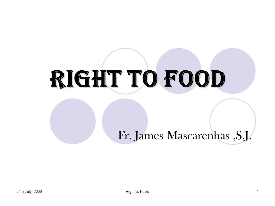 Fr. James Mascarenhas ,S.J.