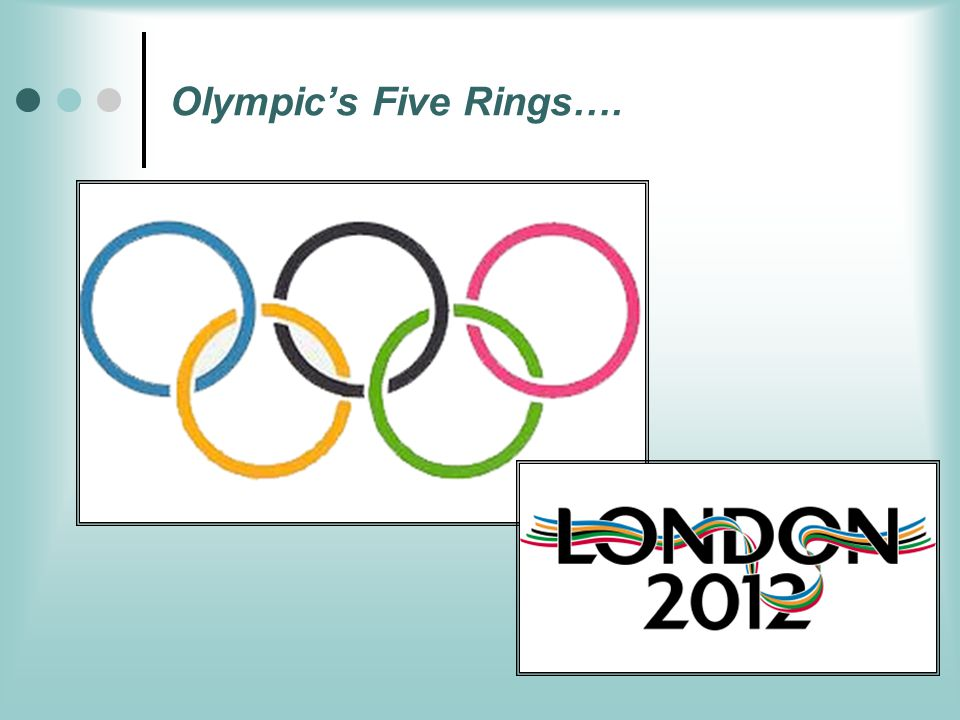 Olympic's Five Rings….