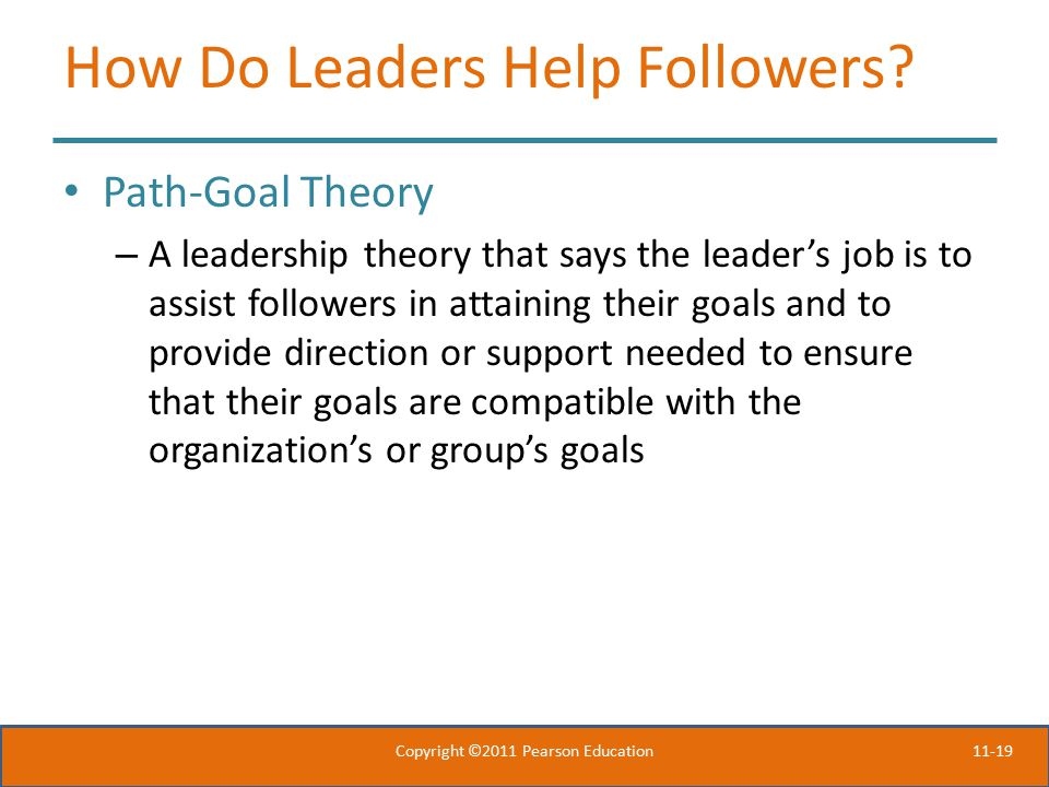 How Do Leaders Help Followers