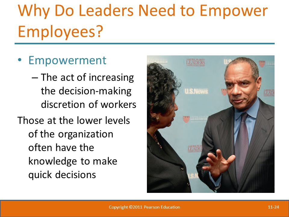 Why Do Leaders Need to Empower Employees