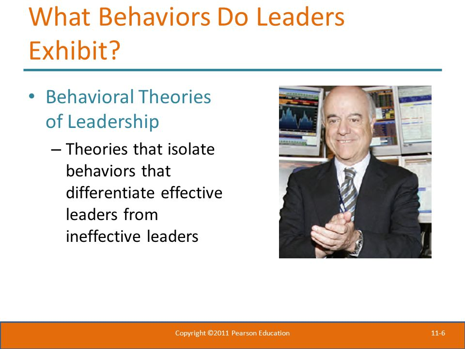 What Behaviors Do Leaders Exhibit