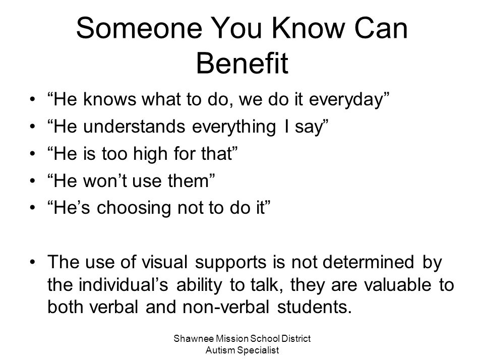 Someone You Know Can Benefit