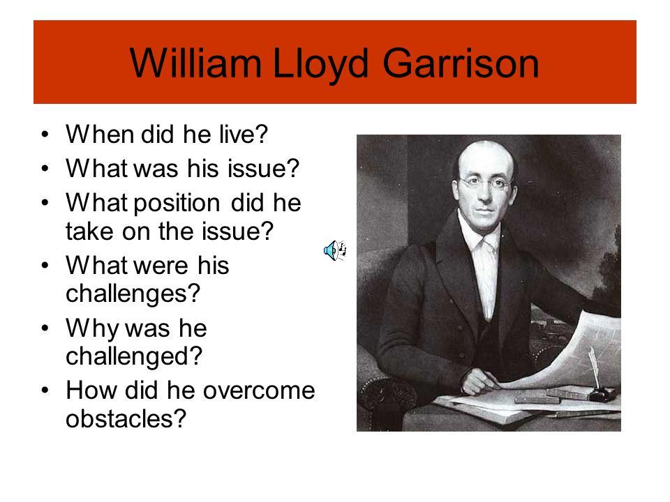 William Lloyd Garrison