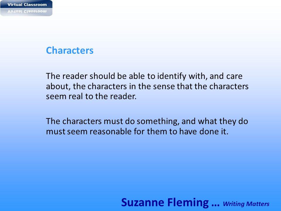 Suzanne Fleming … Writing Matters